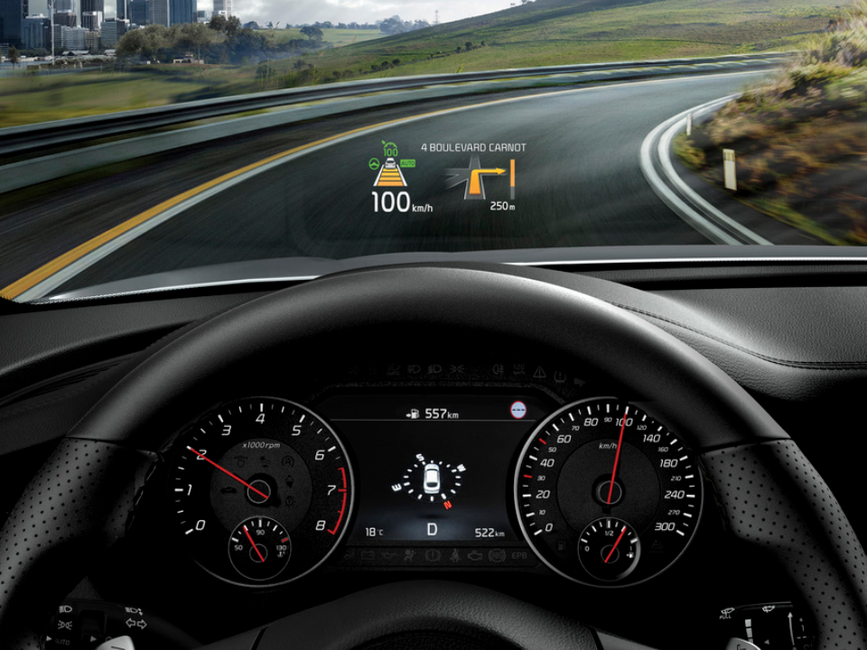 HEAD-UP DISPLAY (TFT-LCD TYPE)